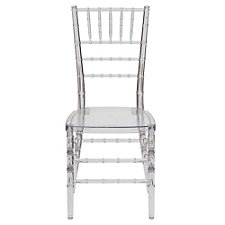 Chiavari Clear Polycarbonate Guest Chair, CH51410