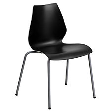 Tainter Retro Armless Four Leg Stack Chair, CH51407