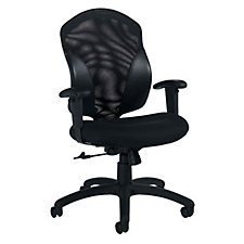 Tye Mesh and Fabric Mid-Back Ergonomic Chair, CH02667