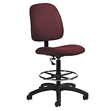 Fabric Armless Drafting Stool, CH03751
