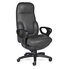 Concorde Leather 24 Hour Big and Tall Ergonomic Chair, CH02670