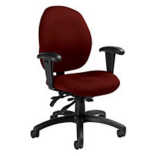 Malaga Fabric Low Back Ergonomic Chair, CH02846