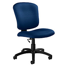 Medium Back Armless Computer Chair, CH02684