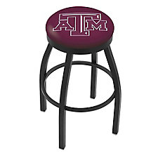 "College Logo Stool with Vinyl Seat - 25""H, CH51436"