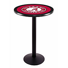 "College Logo Disc Base Table - 36""DIA x 36""H, CH51443"