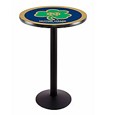"College Logo Disc Base Table - 28""DIA x 42""H, CH51444"