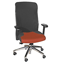 Cirrus Mesh and Fabric High Back Ergonomic Chair, CH04652