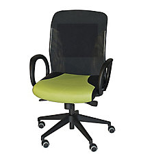 Cirrus Mid Back Chair with Fixed Arms, CH04655