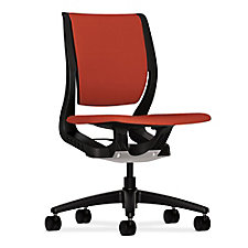 HON Purpose Fabric Armless Task Chair, CH50704