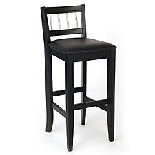 "Manhattan Pub Stool - 31""H Seat, CH04293"