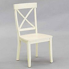 White Finish Dining Chair, CH03786