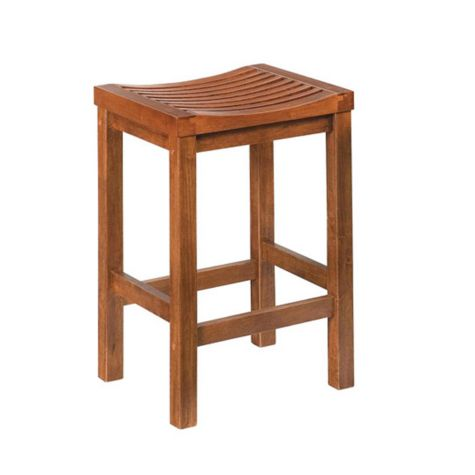 Cottage Oak Backless Bar Stool 24h Seat Officechairs Com