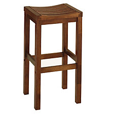 "Cottage Oak Backless Bar Stool - 29""H Seat, CH04305"