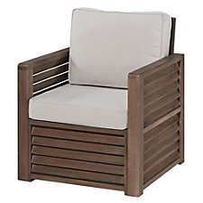 Barnside Polyester Indoor or Outdoor Arm Chair, CH51075