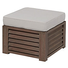 Barnside Polyester Indoor or Outdoor Ottoman, CH51076