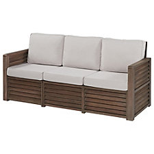 Barnside Polyester Indoor or Outdoor Three Seat Sofa, CH51078