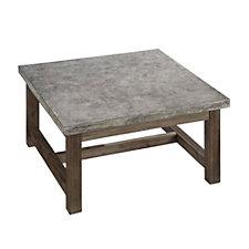 """Concrete Chic Square Coffee Table - 36""""W, CH51081"""