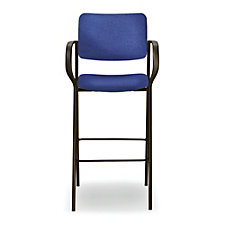 Tess Fabric Stool with Arms, CH50969