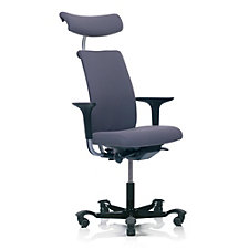 HAG H05 Fabric Modern Mid Back Ergonomic Task Chair with Headrest, CH50973