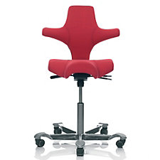 HAG Capisco Fabric Saddle Seat and Back Ergonomic Task Chair, CH50976