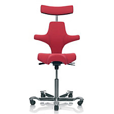 HAG Capisco Fabric Saddle Seat and Back Ergonomic Task Chair with Headrest, CH50977