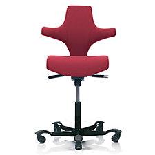 HAG Capisco Fabric Saddle Back Ergonomic Task Chair, CH50978