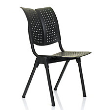 HAG Wing Plastic Armless Self Leveling Stack Chair, CH50980