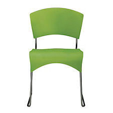 Jazz Plastic Armless Sled Base Stack Chair, CH51041