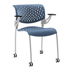 Hannah Plastic Guest Chair with Arms, CH51054