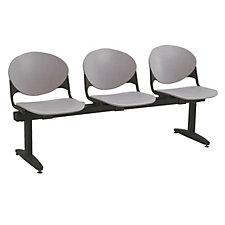 Polypropylene Three Seat Bench, CH04122