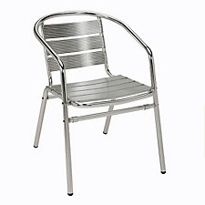 Aluminum Arm Chair for Outdoor Use, CH04808