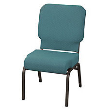 Armless Fabric Wing Stack Chair with Waterfall Seat, CH50951