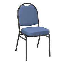 Fabric Stack Chair Black Frame, CH02493