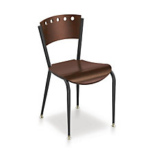 Wood and Metal Break Room Chair, CH04534
