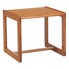 Classic Solid Wood End Table, CH04164