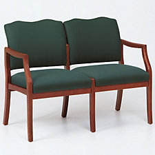 Traditional Style Two Seat Reception Chair, CH03271