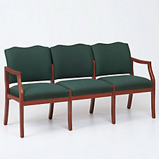 Traditional Style Three Seat Reception Chair, CH03275