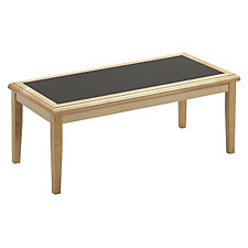 Coffee Table with Laminate Inlay, CH02934