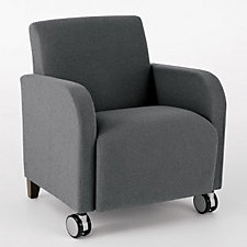 Siena Guest Arm Chair with Casters, CH03958