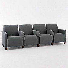 Siena Four Seat Sofa with Center Arms, CH03982