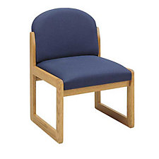 Round Back Armless Guest Chair, CH00360