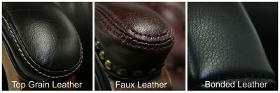Differences Between Real Faux and Bonded Leather