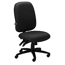 Comfort Series 24 Hour Armless Ergonomic Chair, CH02376