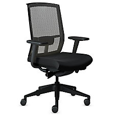 Gist Mesh Back Fabric Seat Ergonomic Task Chair, CH51170