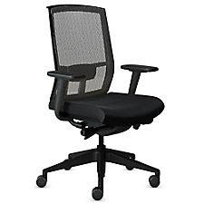 Gist Mesh Back Fabric Seat Ergonomic Task Chair, CH51170