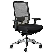 Gist Mesh Back Ergonomic Task Chair with Aluminum Base, CH51171