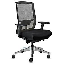 Gist Mesh Back Ergonomic Task Chair with Aluminum Base, CH51171