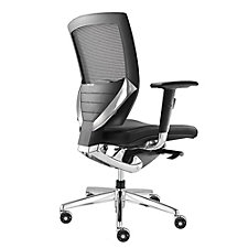 Arris Mesh Ergonomic Chair with Fabric Seat, CH04950