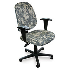 Allegra Fabric Camo High Back Task Chair, CH50605