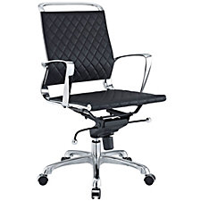 Vibe Leather Mid-Back Computer Chair, CH50544